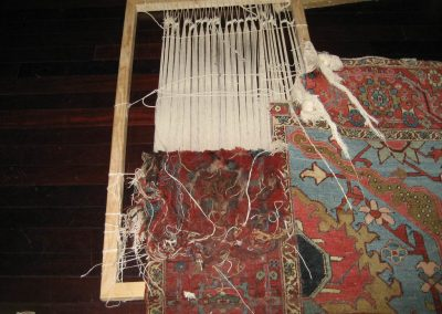 Serapi – Step Four – Rug Restoration