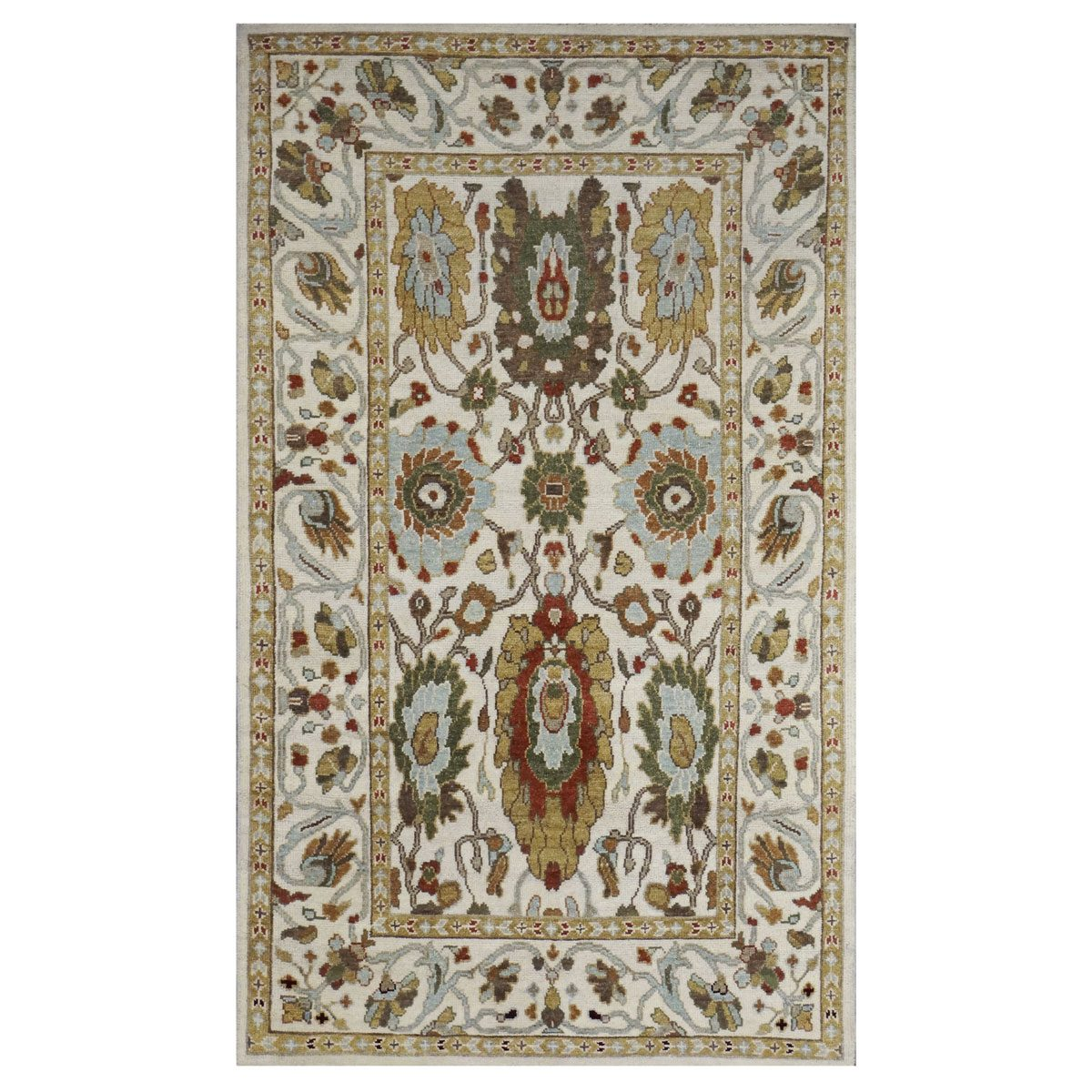 www.ashlyrugs.com Sultanabad Masters Collection Area Rug 4 x 6 Ivory