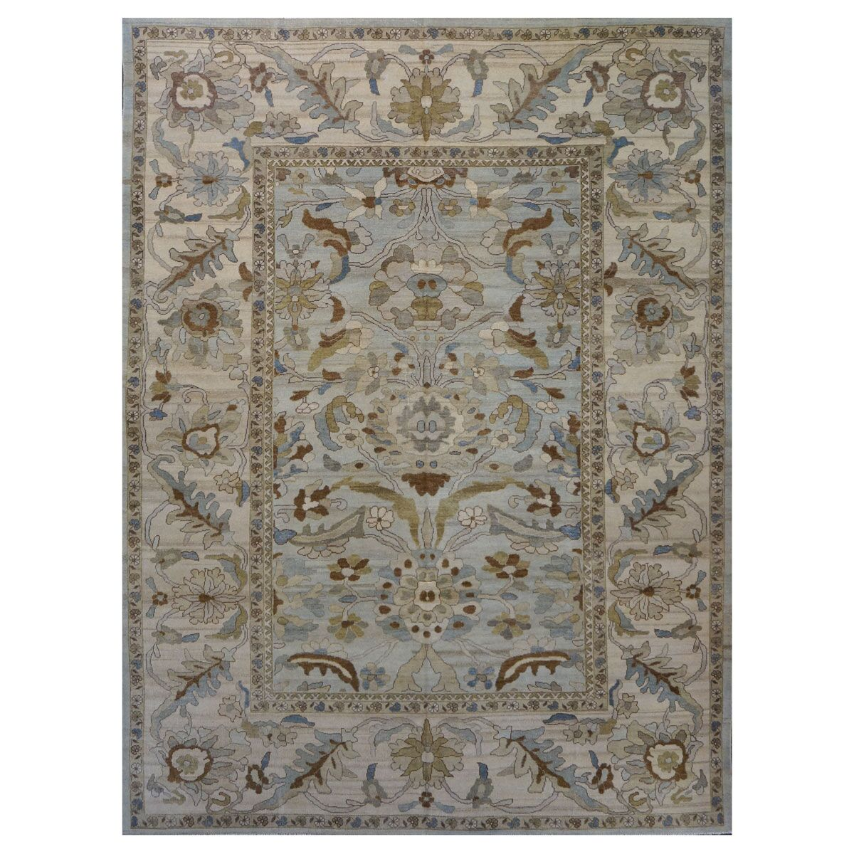 Picture of: Area Rugs Traditional Sultanabad Wool 9902773 9 X 12 Beige