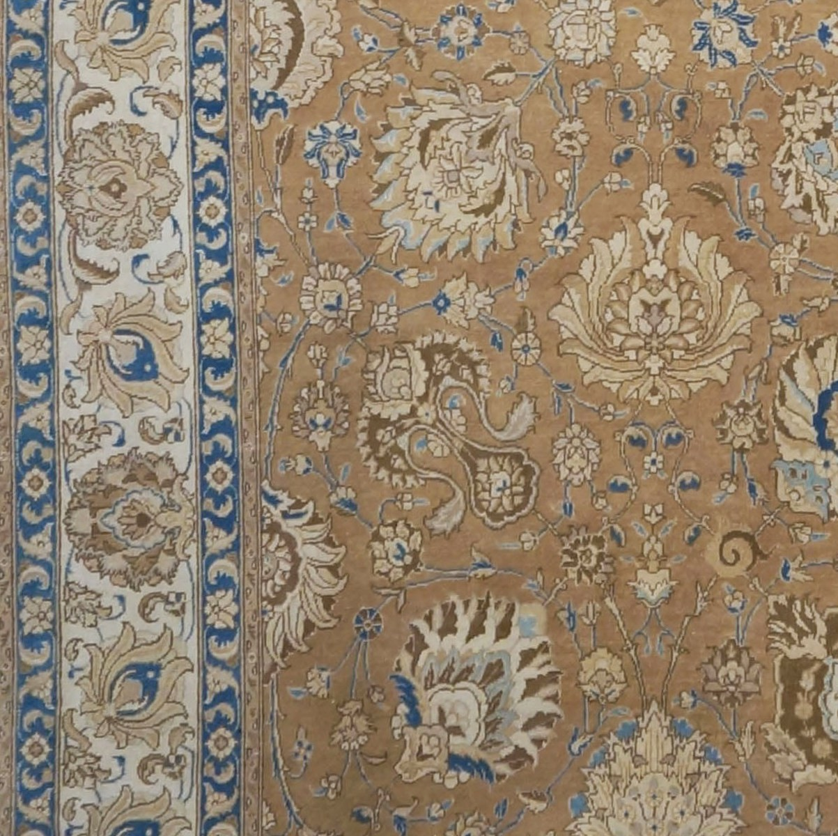 Area Rugs 9902886 Antique Persian Tabriz 11 X 16 Rug