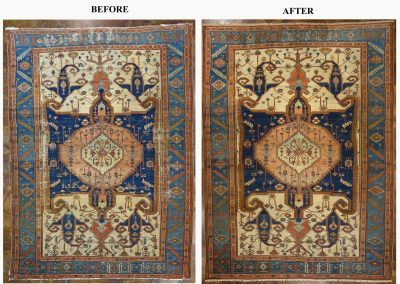 BEFORE AND AFTER SERAPI REPAIRS