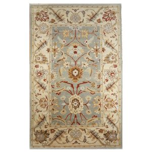 www.ashlyrugs.com Sultanabad Masters Collection 5 x 8 Light Blue