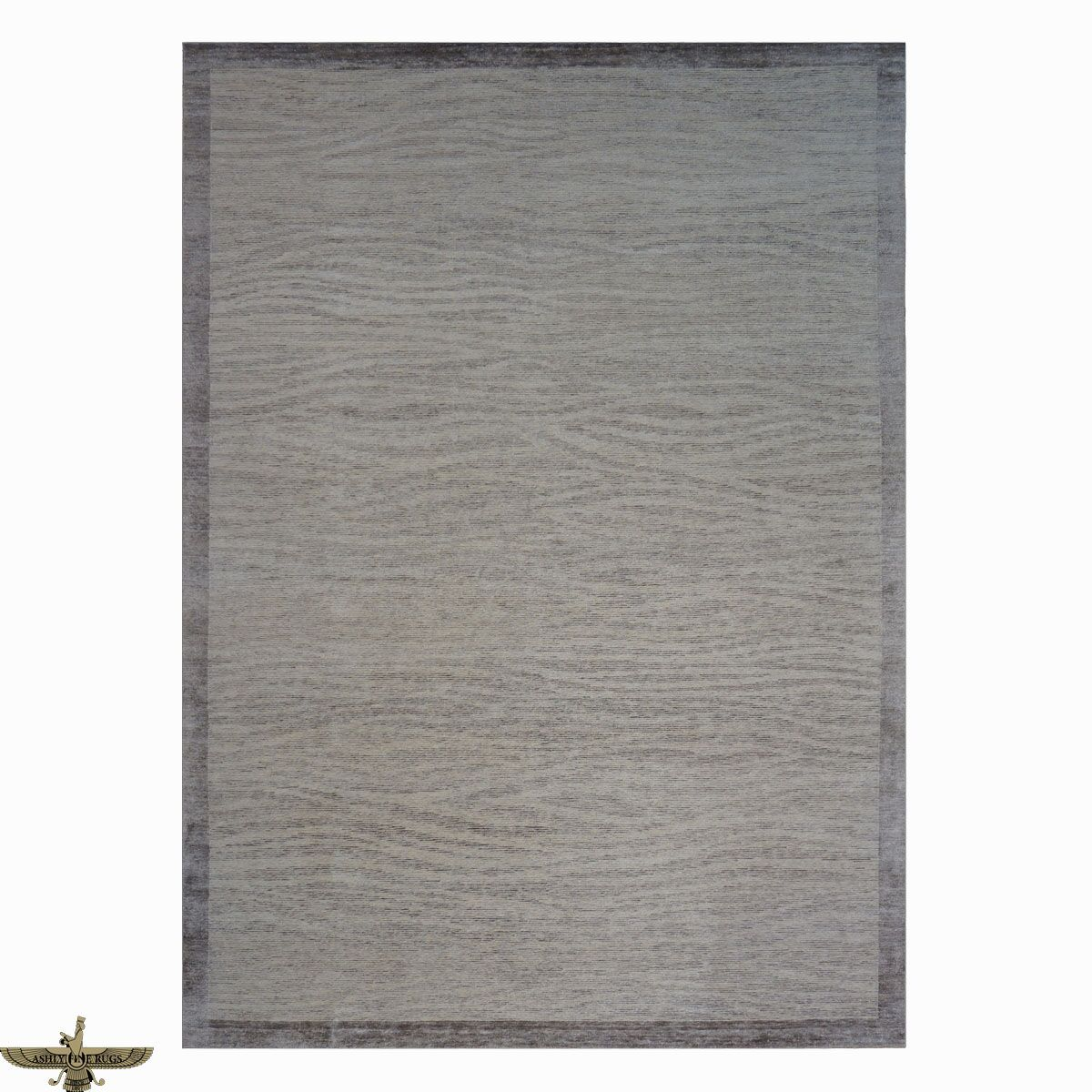 Area Rugs: Modern Contemporary Wool And Silk 9 X 14 Brown