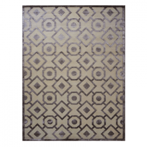 www.ashlyrugs.com Brown Lattice 9 x 12 Persian Rug