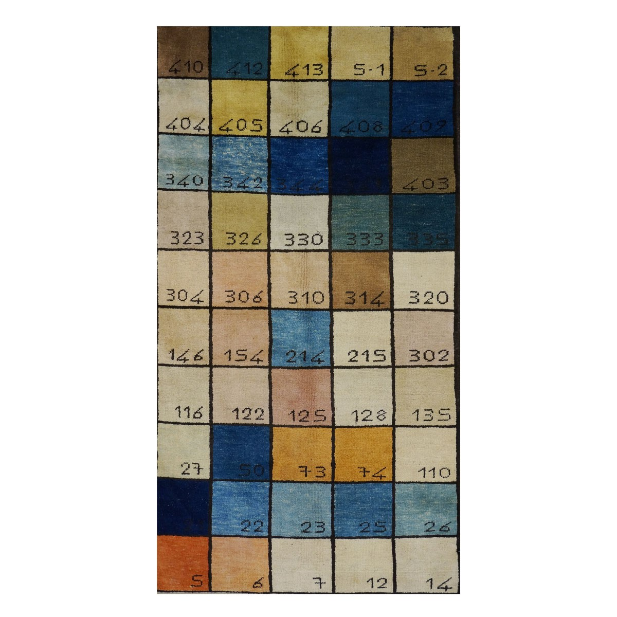 Are Rugs Turkish Color Board Sample