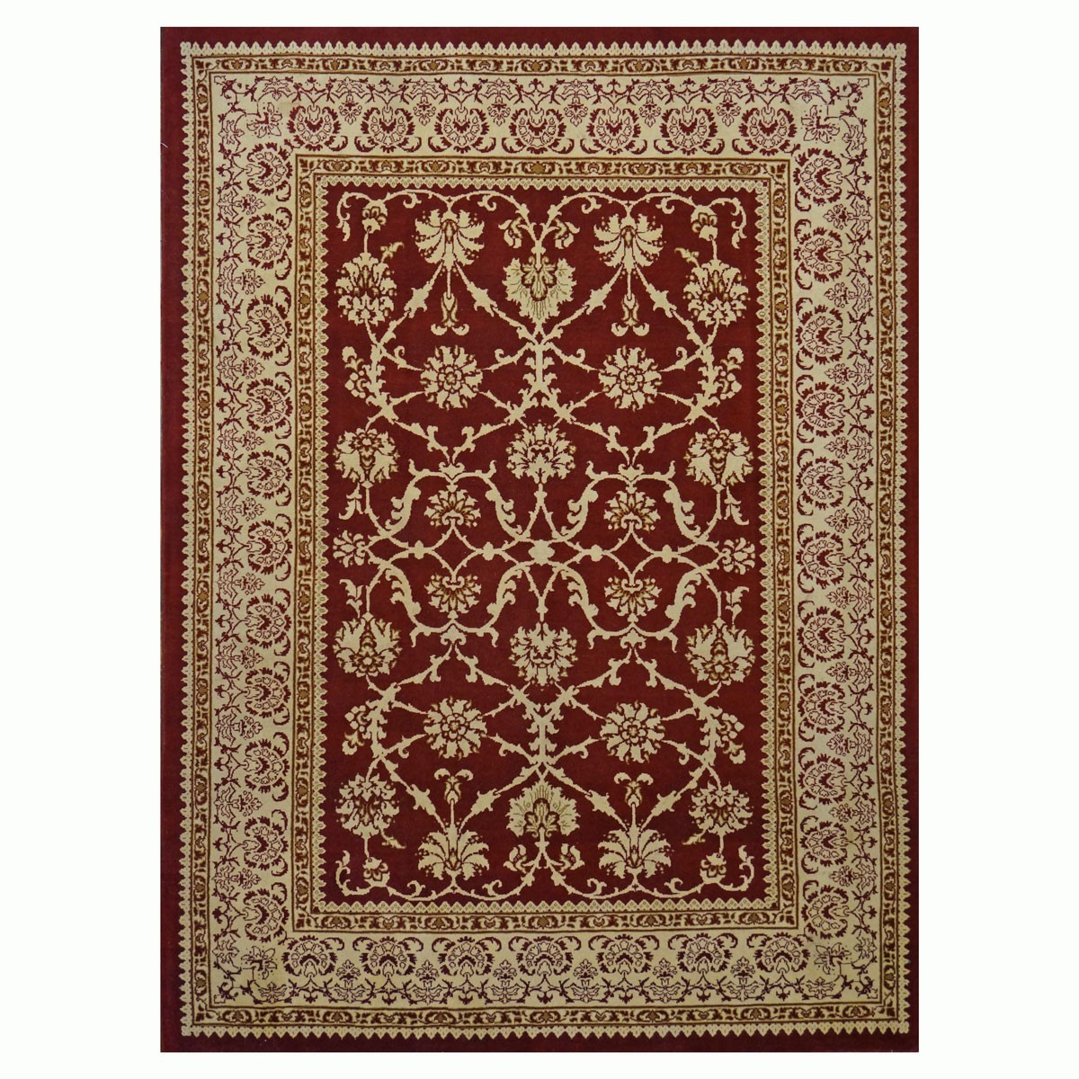 Area Rugs Tabriz 5 X 7 Red And Gold