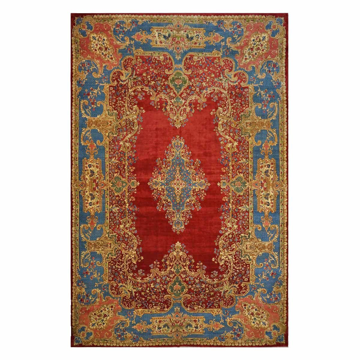 9902258 Antique Persian Kerman Area Rug from Ashly Fine Rugs