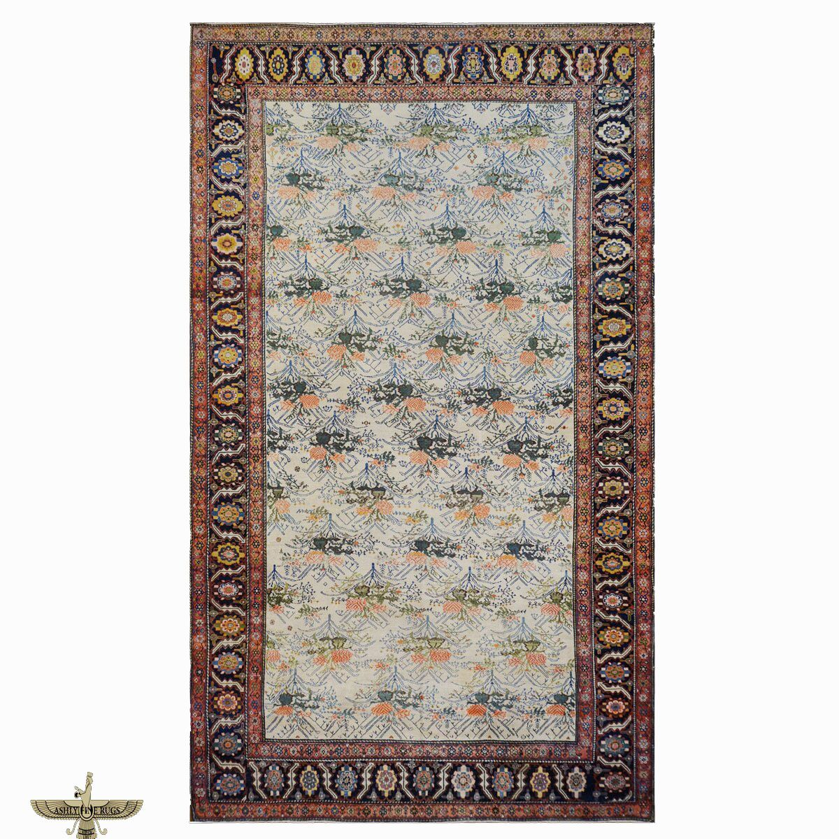 Area Rugs Malayer Persian 100 Wool Antique 9902772 Oversize Ivory