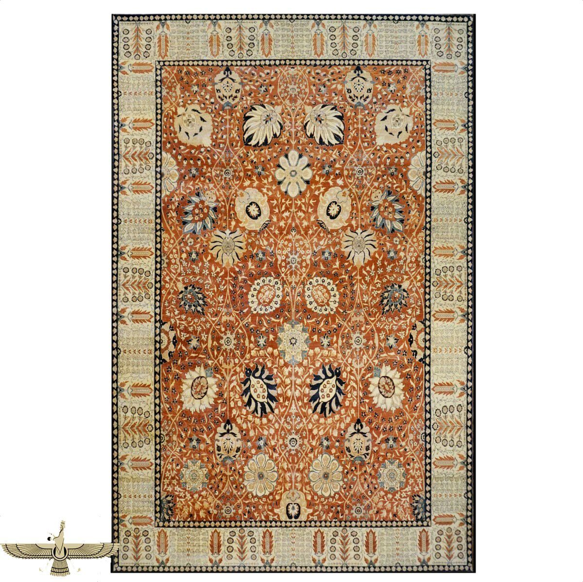 9902816 Persian Tabriz Area Rug from Ashly Fine Rugs