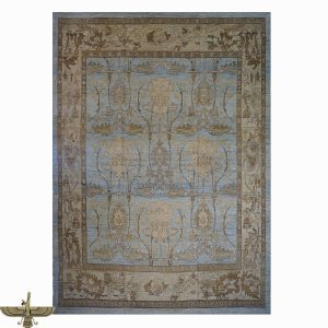 1143649 Turkish Oushak Wool and Hemp Area Rug from Ashly Fine Rugs