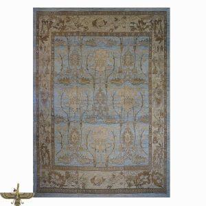 1143649 Turkish Oushak Wool and Hemp Area Rug from Ashly Fine Rugs